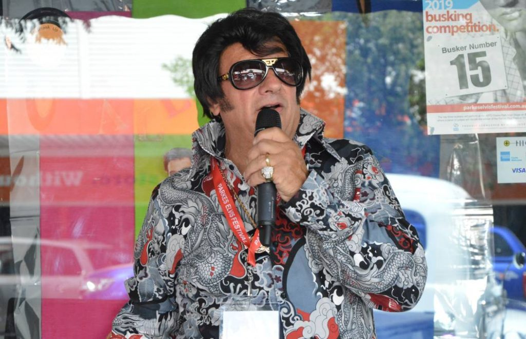 Ross at Elvis Festival 2019